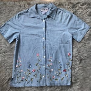 Bedford Fair Embroidered Top